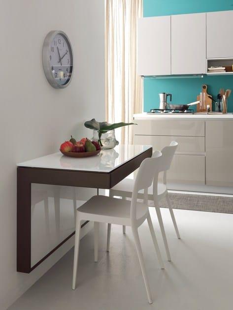 Tavolo a muro allungabile da cucina FORTUNE - IDEAS Group