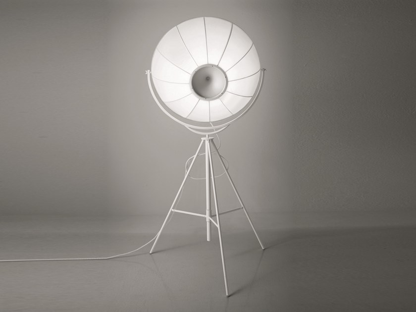 Adjustable floor lamp with dimmer FORTUNY BLANCA by Pallucco