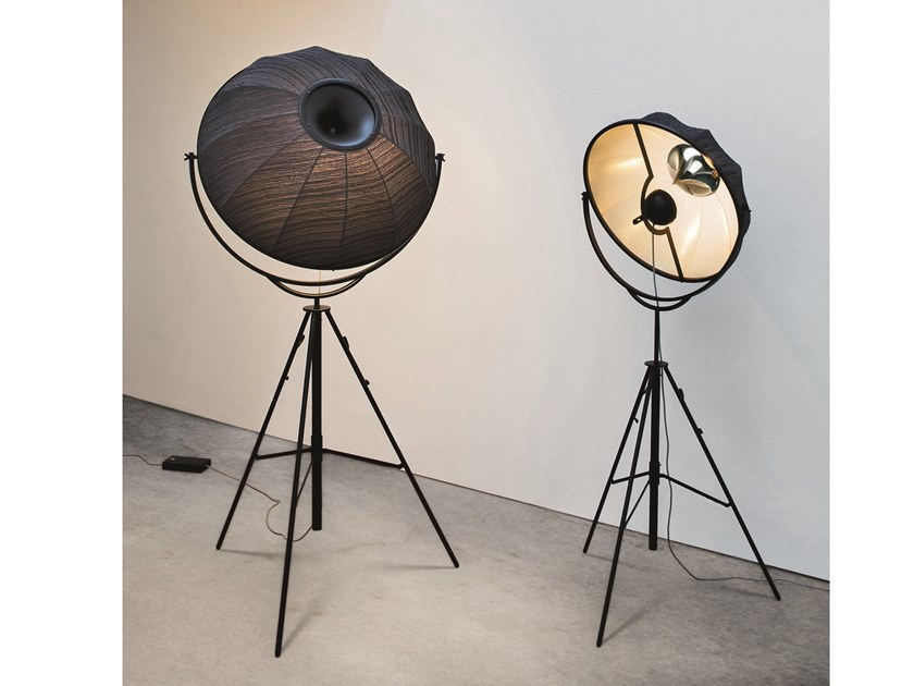 Adjustable floor lamp with dimmer FORTUNY KIEFFER RUBELLI by Pallucco