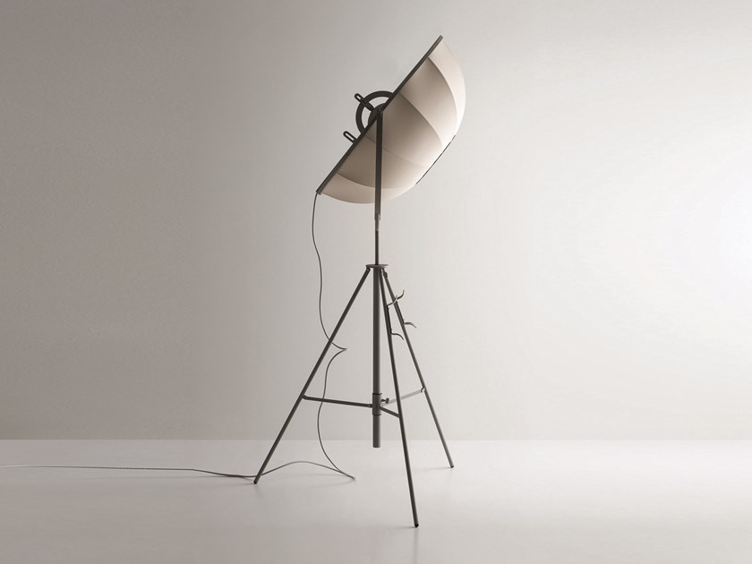 Indirect light adjustable floor lamp with dimmer FORTUNY MODA by Pallucco