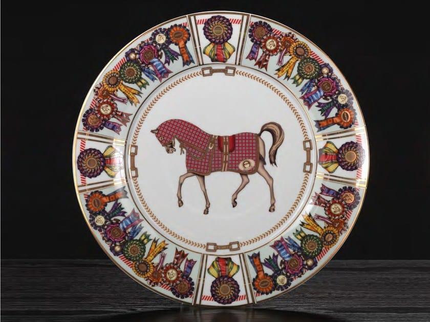 Set di piatti in porcellana FOUR HORSES | Set di piatti by Formitalia