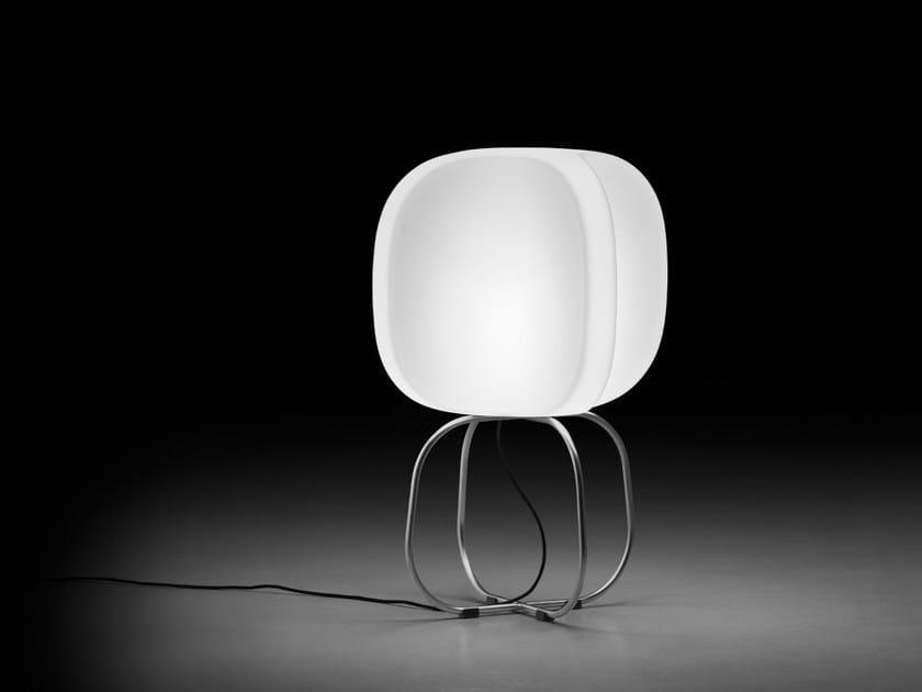 Polyethylene table lamp / floor lamp FOUR LAMP | Table lamp by Plust