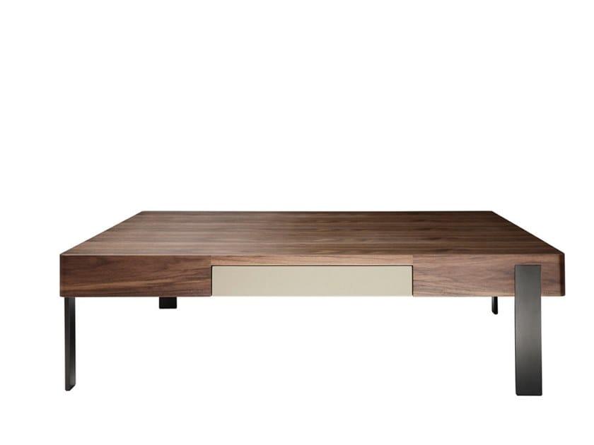 Wood veneer coffee table FOUR SEASONS   Coffee table by HC28