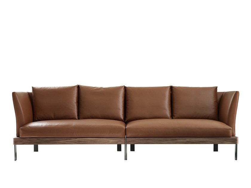 Sectional leather sofa FOUR SEASONS | Sectional sofa by HC28