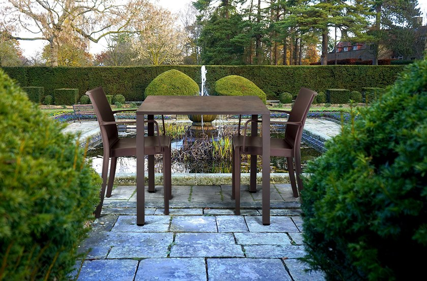 Quadrato Tavolo Tech Da Giardino Garden Four gYf7yb6v