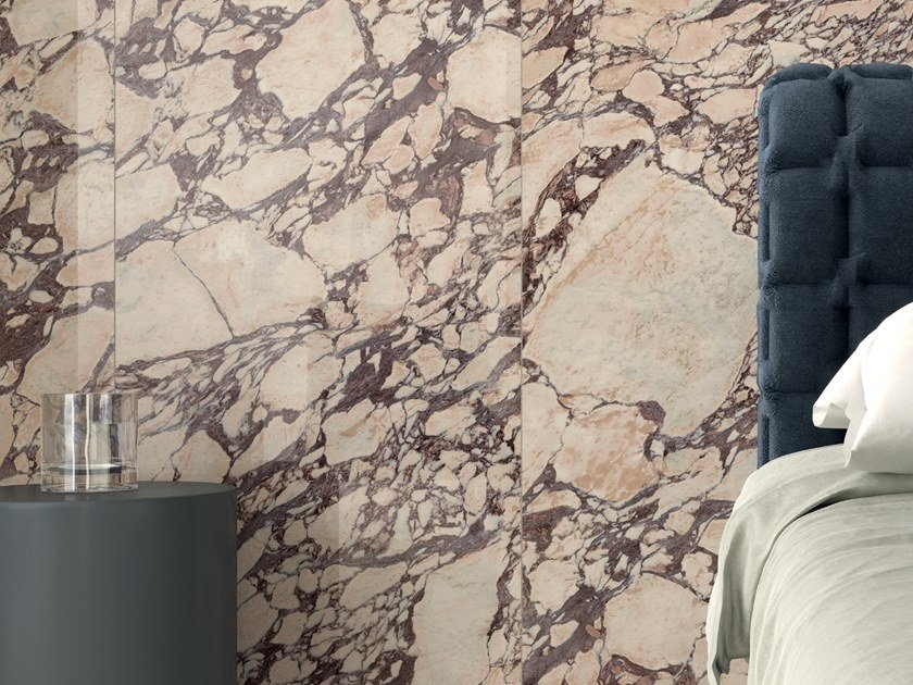 Pavimento/rivestimento in gres porcellanato effetto marmo FOYER ROYAL DRAMA by Marca Corona