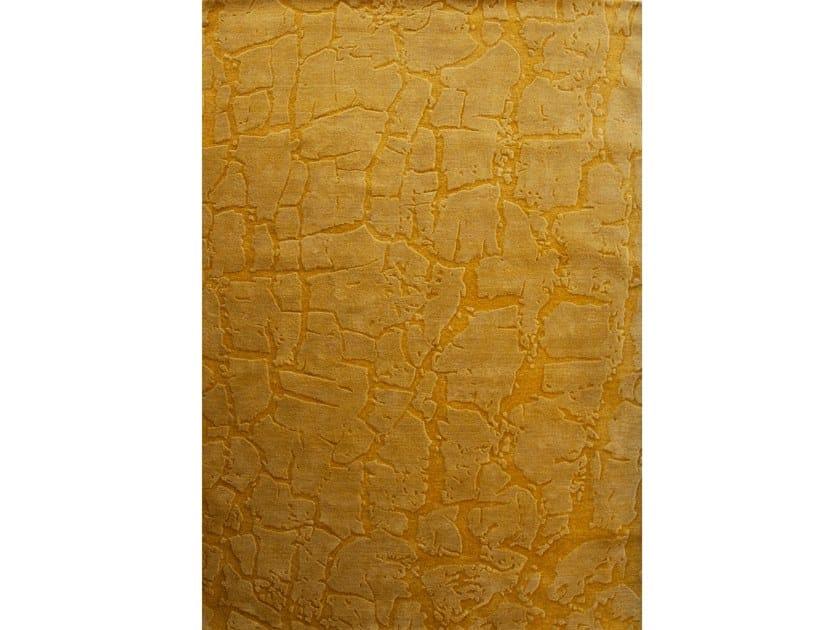 Tappeto a tinta unita rettangolare in lana FRACTURA by Barcelona Rugs