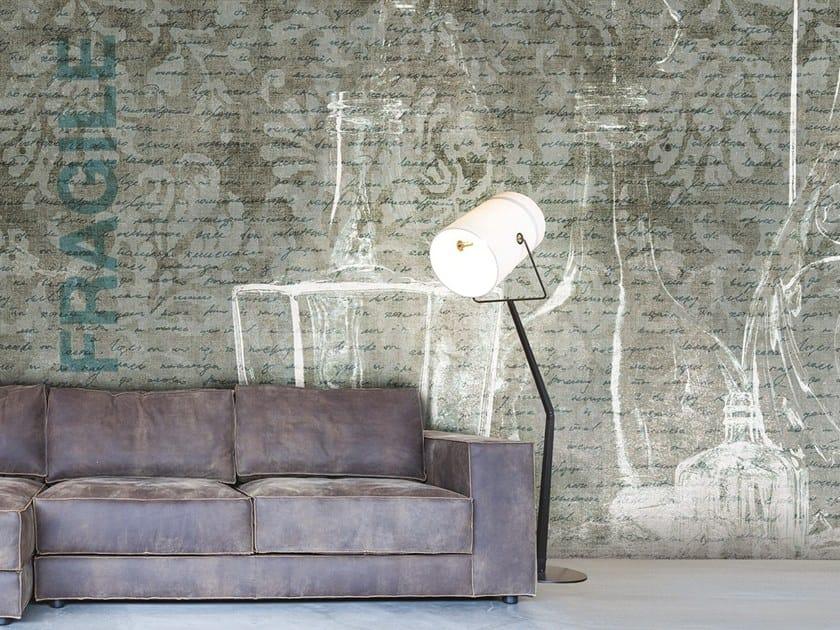 Vinyl or fyber glass wallpaper FRAGILE by N.O.W. Edizioni