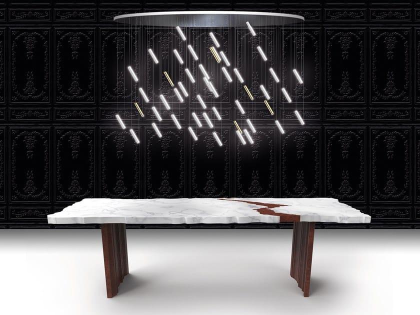 Carrara marble table FRAK-TUR by Beau & Bien