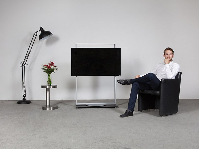 Swivel Floor mounted stand FRAME - ART146 | Stand by Wissmann raumobjekte