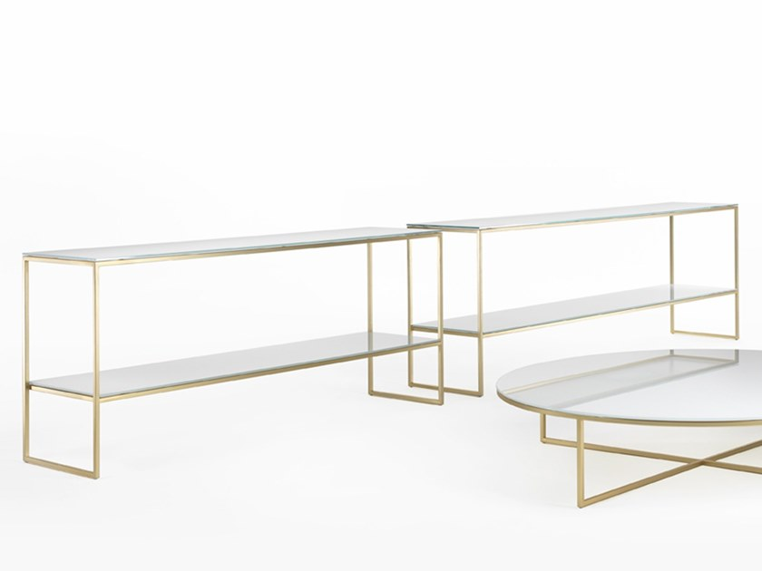 Rectangular console table FRAME | Console table by Marelli