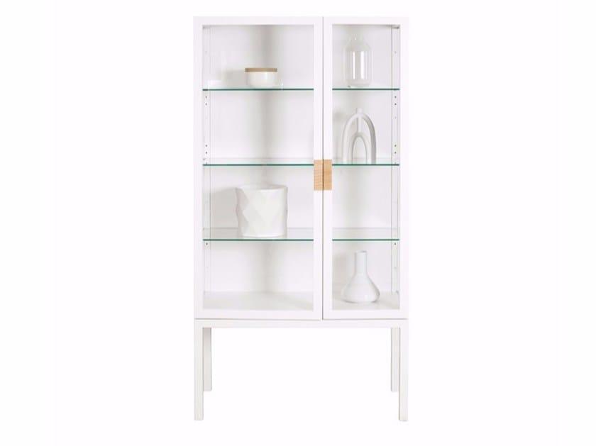 Highboard / display cabinet FRAME | Glass highboard by ASPLUND
