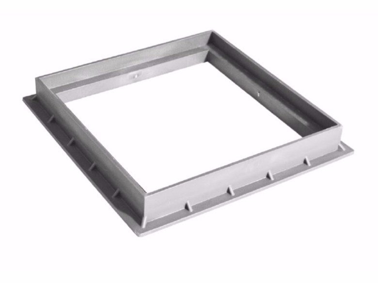 Manhole cover and grille for plumbing and drainage system FRAME by Dakota