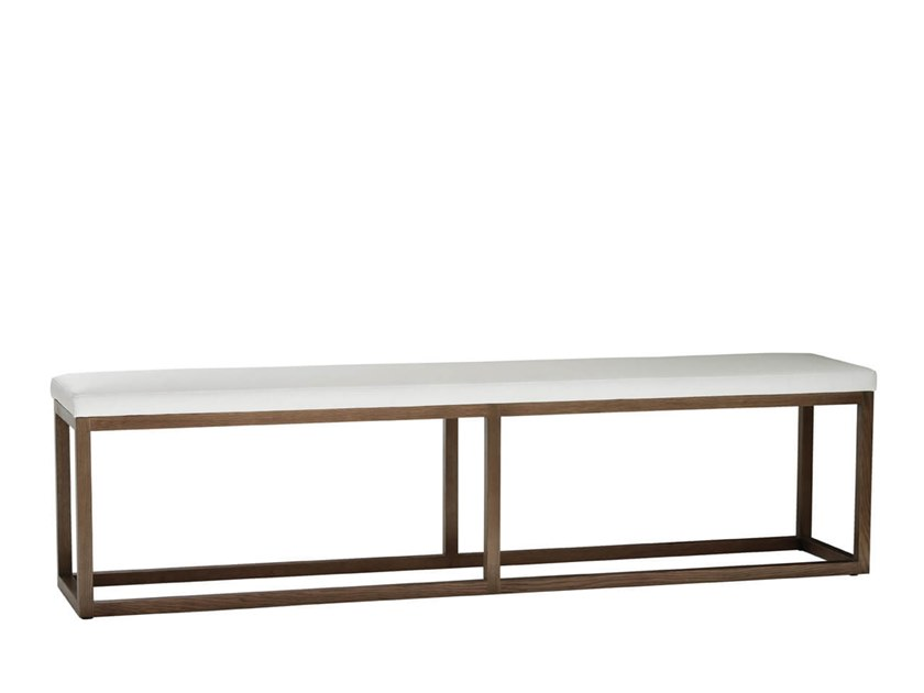 Upholstered wooden bench FRAME by HC28