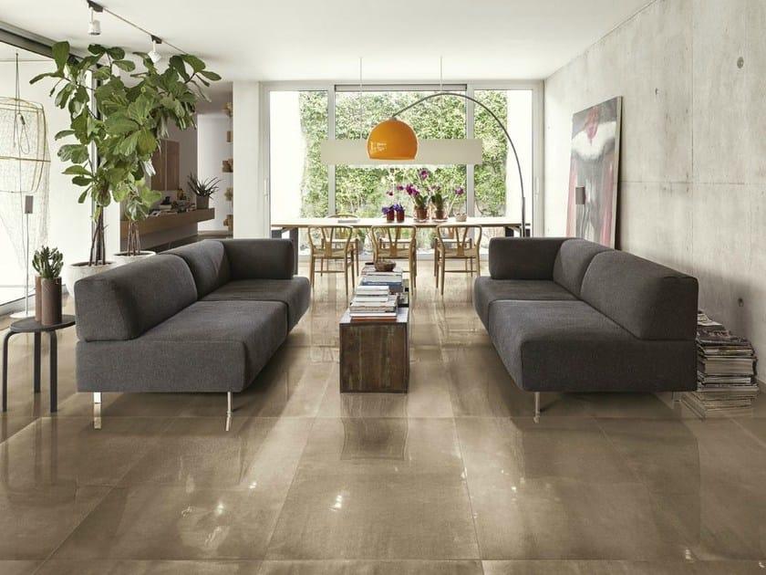 Porcelain stoneware flooring FRAME | Flooring by FAP ceramiche