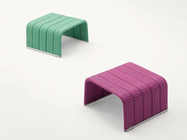 Fabric garden side table FRAME | Garden side table by Paola Lenti