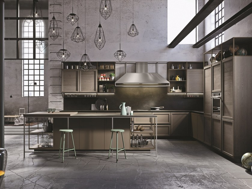 FRAME Fitted kitchen By Snaidero design Massimo Iosa Ghini