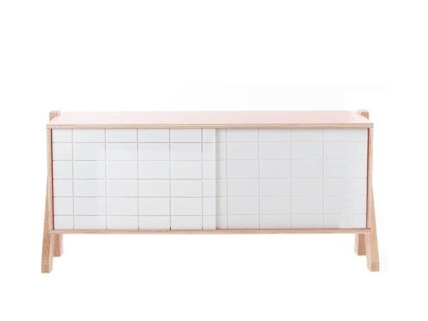 Madia con ante scorrevoli FRAME SIDEBOARD 01 SMALL by rform