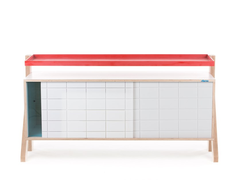 Madia con ante scorrevoli FRAME SIDEBOARD 03 SMALL by rform