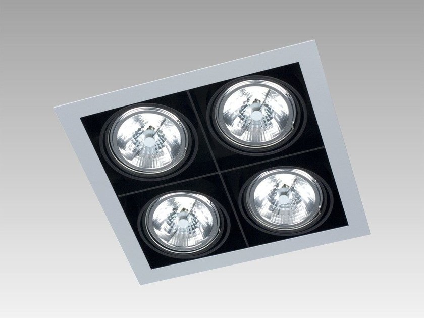 Ceiling recessed spotlight FRAME SQUARE by Orbit