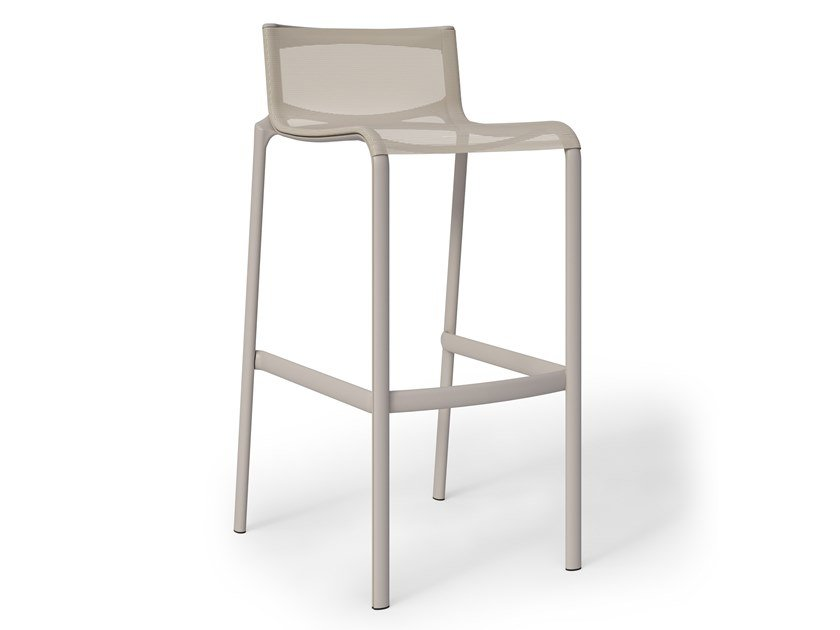 High aluminium and PVC stool FRAME | Stool by Alias