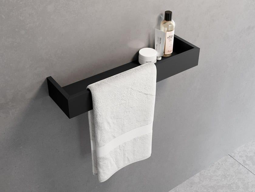 Porta asciugamani con mensola FRAME | Porta asciugamani con mensola by NOVELLINI