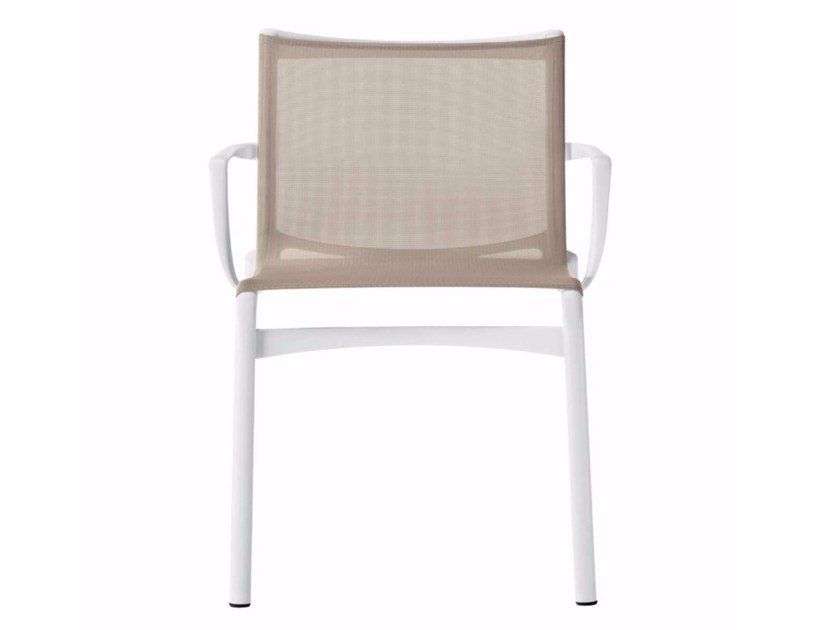 Stackable chair with armrests FRAME XL - 459 by Alias