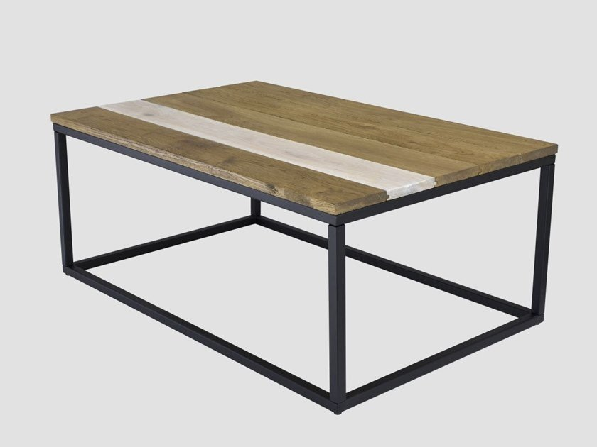 Rectangular coffee table for living room FRAMED by Gie El Home