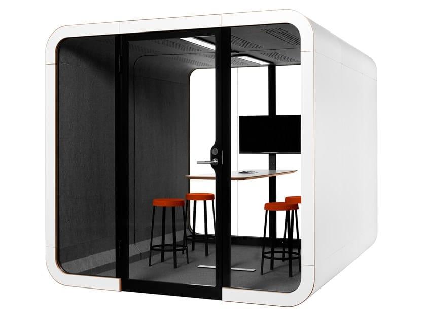 Isola ufficio acustica per meeting FRAMERY 2Q by Framery