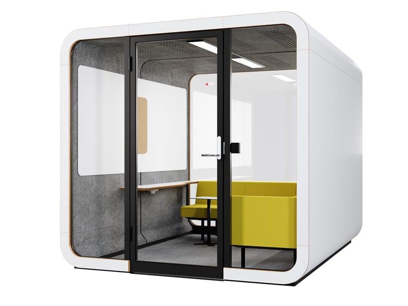 Cabina de oficina acústica FRAMERY 2Q LOUNGE by Framery