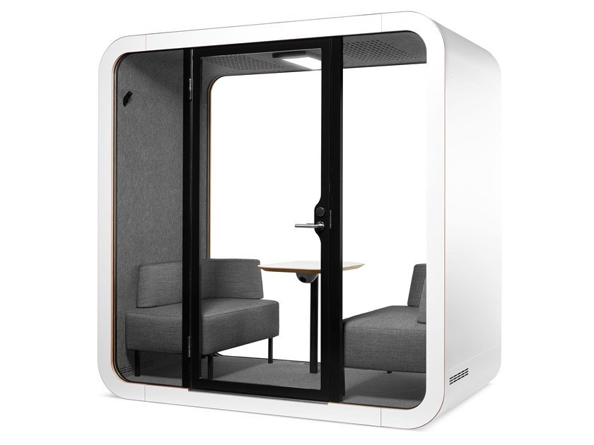Isola ufficio acustica per meeting FRAMERY Q - MEETING MAGGIE by Framery