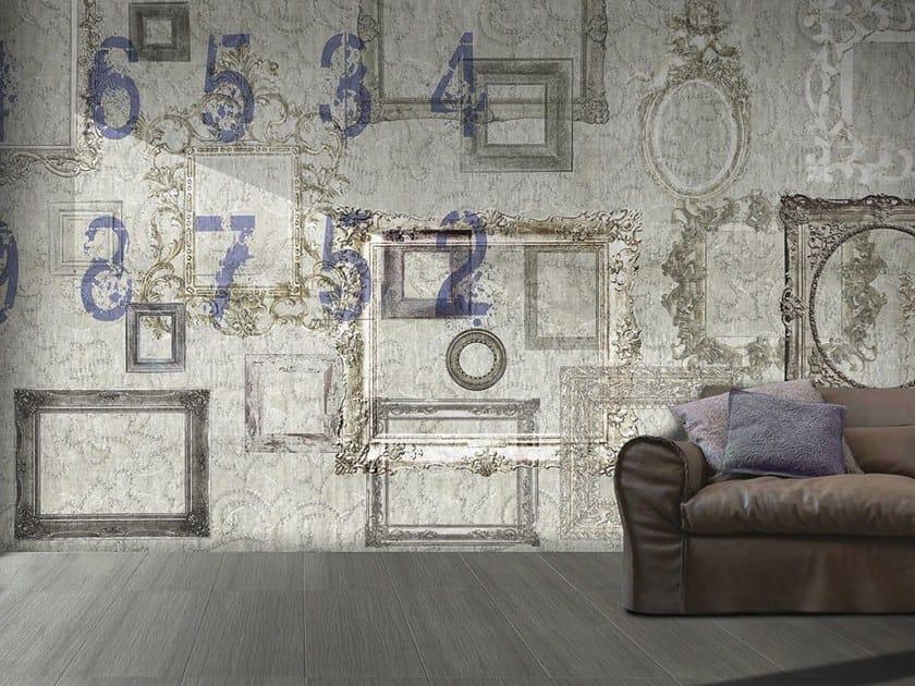 Vinyl or fyber glass wallpaper FRAMES by N.O.W. Edizioni
