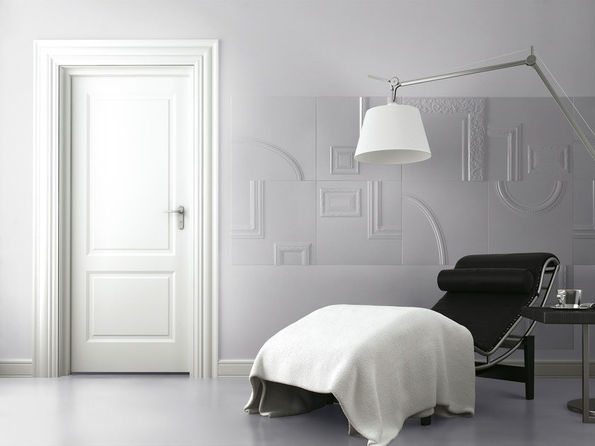 White white-paste wall tiles FRAMES | Wall tiles by ORNAMENTA