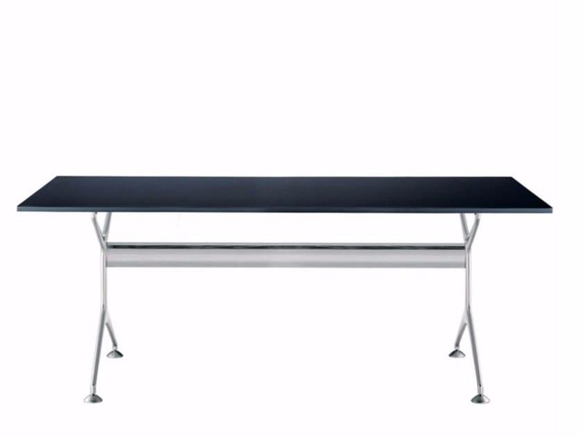 Table rectangulaire en placage de bois FRAMETABLE 190 - 496_190 by Alias