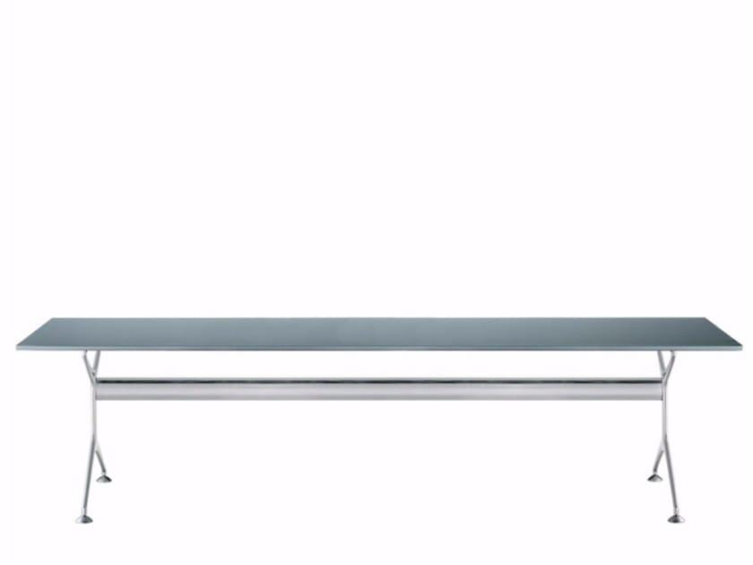 Tavolo rettangolare in legno impiallacciato FRAMETABLE 240 - 496_240 by Alias
