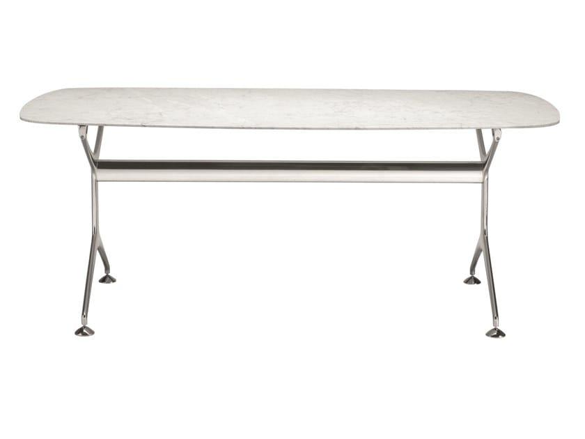 Table ovale en placage de bois FRAMETABLE 240 - 498_240 by Alias