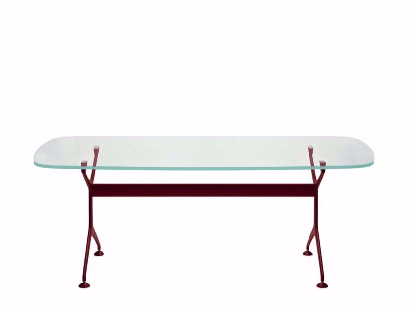 Oval table FRAMETABLE COLORS OVAL - FT2 by Alias