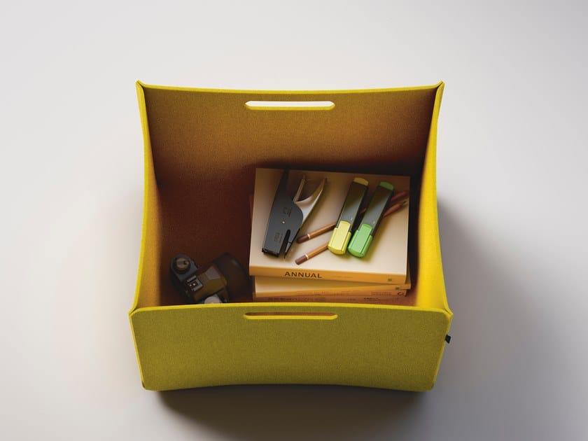 Portariviste per ufficio in feltro FRAMEWORK 2.0 BUZZIBOX by FANTONI