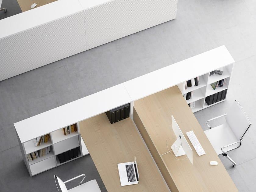 Libreria ufficio modulare FRAMEWORK 2.0 | Libreria ufficio by FANTONI