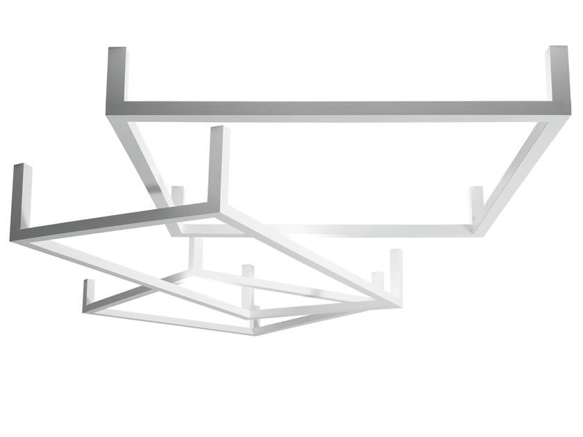 Lampada da soffitto in alluminio FRAMEWORK   Lampada da soffitto by AXOLIGHT