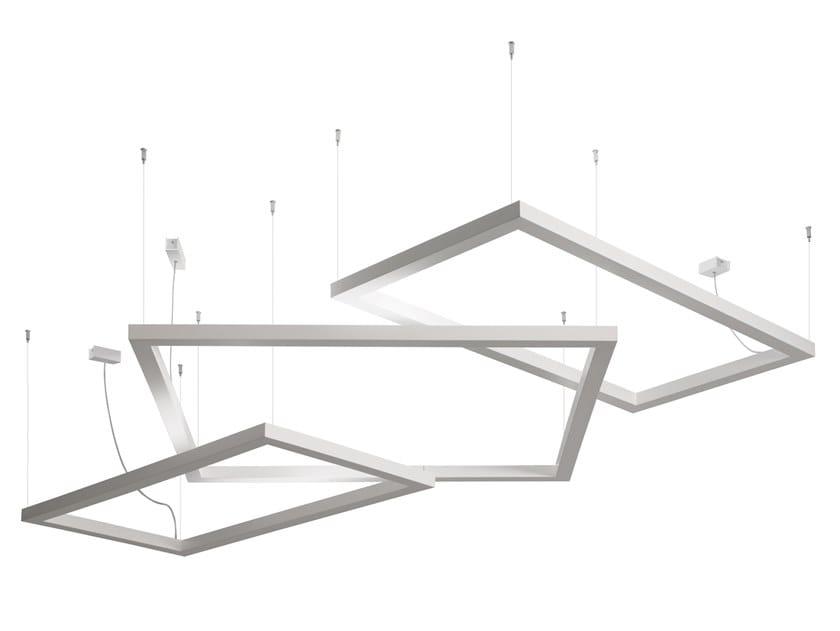 Lampada a sospensione in alluminio FRAMEWORK | Lampada a sospensione by AXOLIGHT