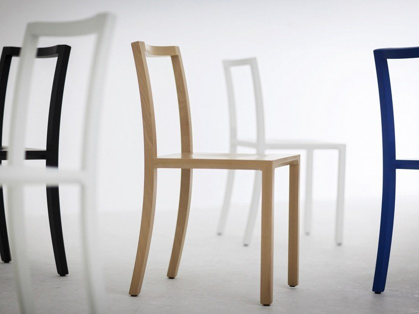 Beech chair FRAMEWORK | Chair by Cizeta L'Abbate