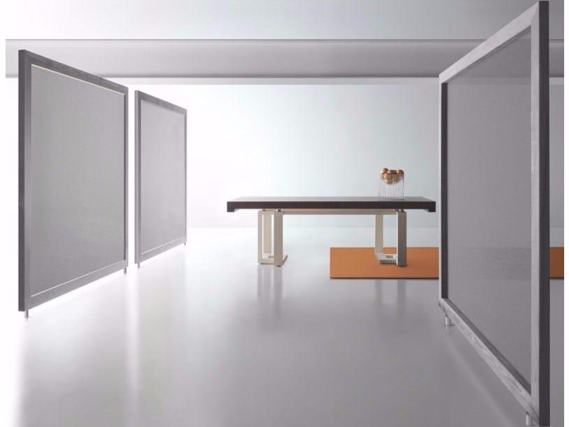 Extending rectangular wooden table FRASEGGIO by Bauline