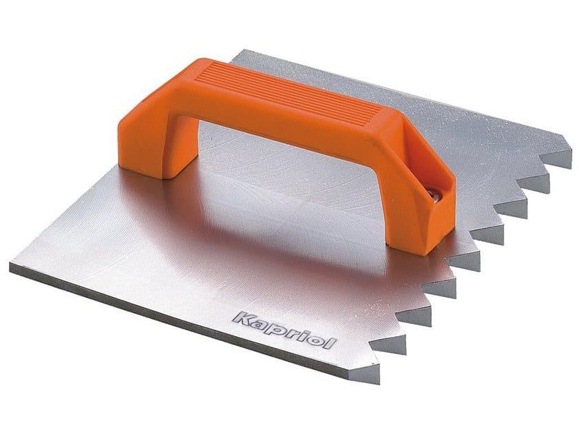 Putty knives FRATTONE SCANALATORE ACCIAIO by KAPRIOL