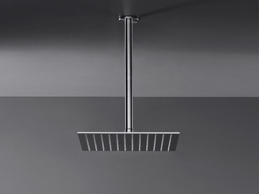 Square adjustable shower head FRE 11 by Ceadesign