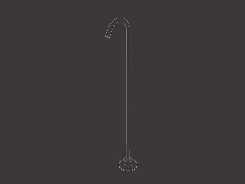 Floor standing bathtub spout FRE 111 by Ceadesign