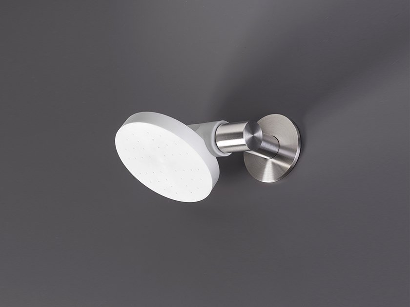 Wall-mounted adjustable overhead shower FRE 137 by Ceadesign
