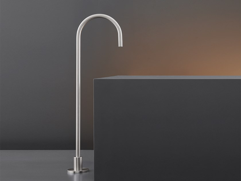 Floor standing bathtub spout FRE 58 by Ceadesign