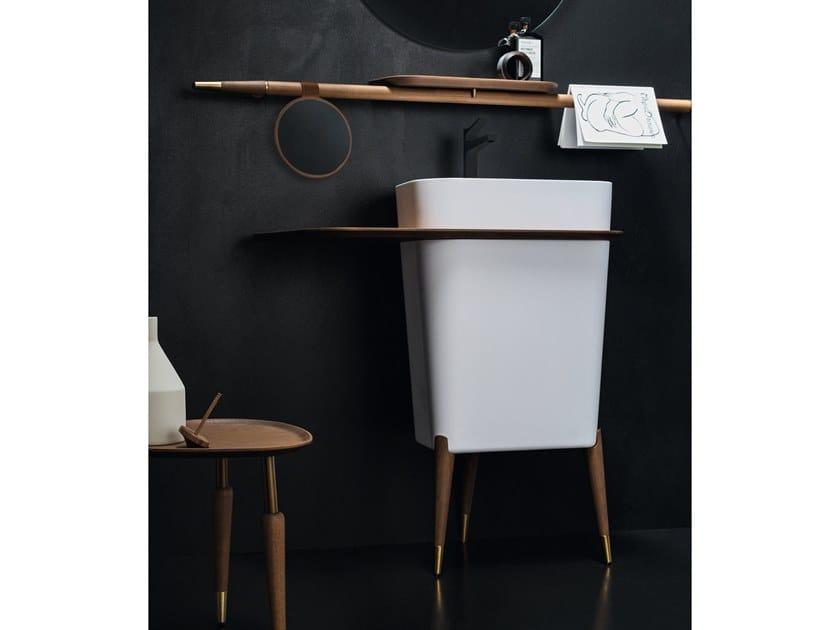 Freestanding Marmoresina washbasin FREE | Washbasin by Cerasa