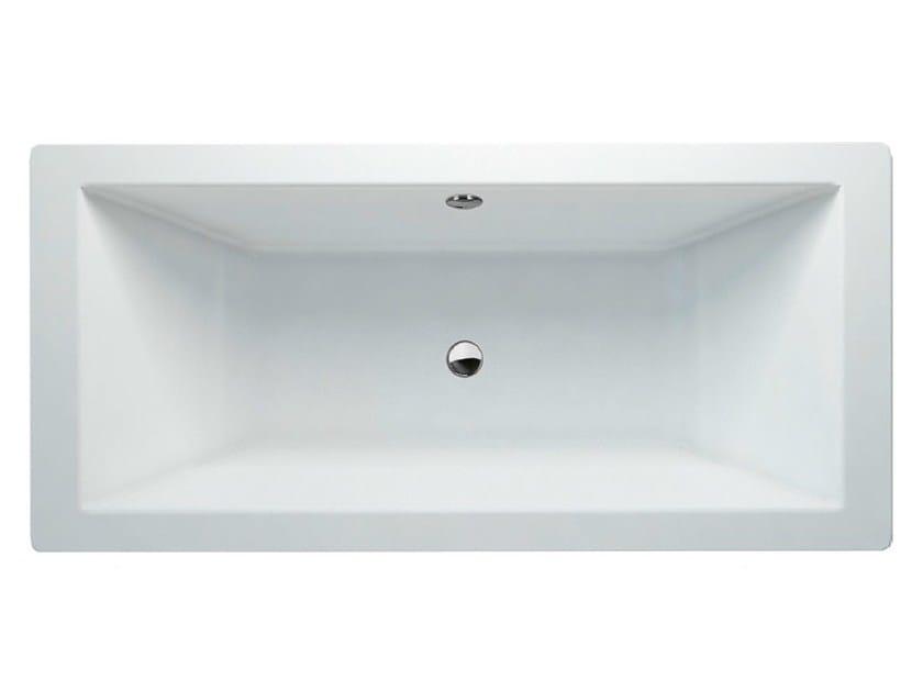 Freestanding rectangular bathtub FREEFORTIS by Polo